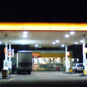 Petrol station security