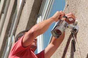 Installing-CCTV