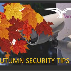 Autumn CCTV Security Tips