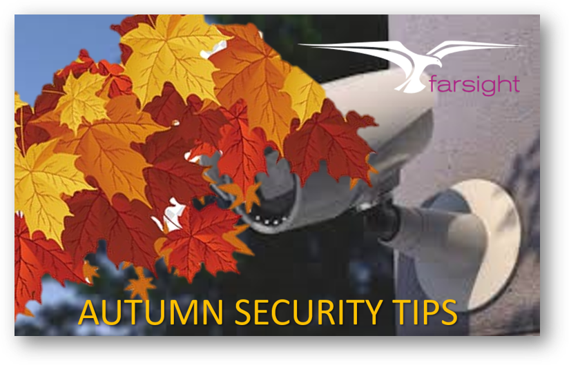 Autumn CCTV Security Tips