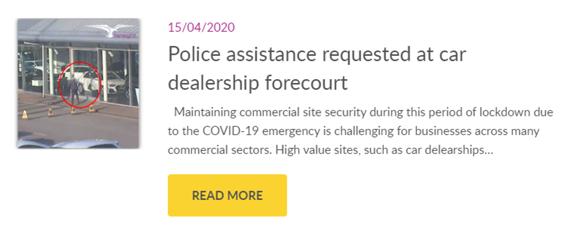 car dealership theft