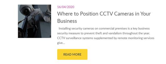 where to position cctv cameras
