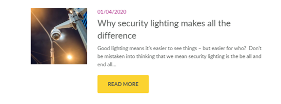 why security lighting makes all the difference
