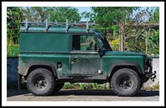 Land rover defender theft