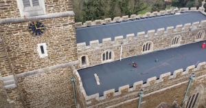 church roof theft