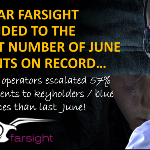 June Crime Incidents From Farsight